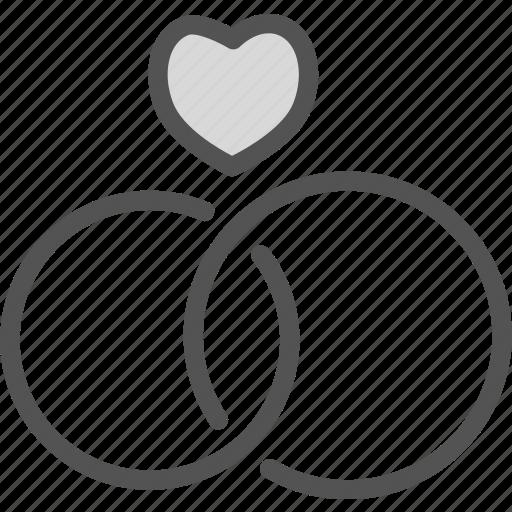 bound, engagement, groom, husband, ring, wedding, wife icon