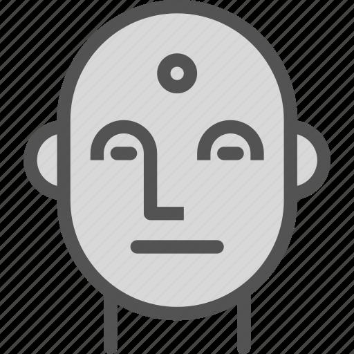 avatar, face, indian, man icon