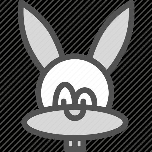 animal, easter, rabbit icon