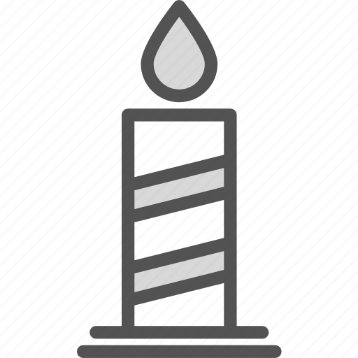 candle, church, flame, god, holy, religion, word icon