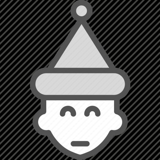 elf, midget, presents icon