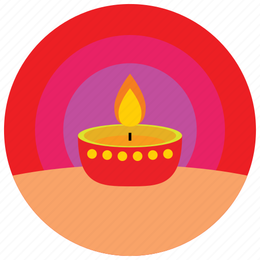 asian, candles, flame, holidays, occasions icon