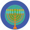 candles, celebration, decoration, holidays, occasions icon