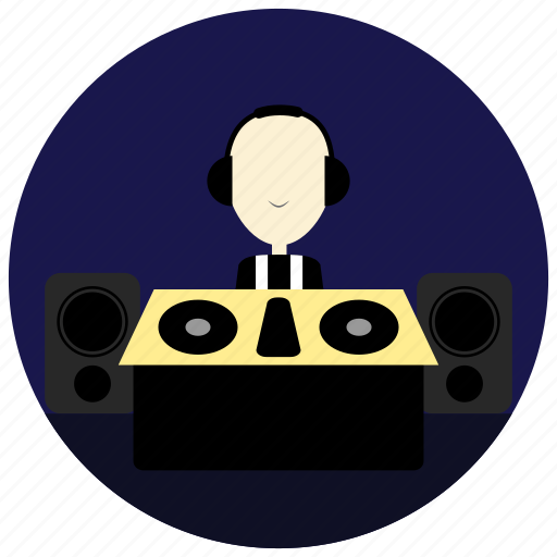 And, dj, headset, holidays, occasions, speakers icon - Download on Iconfinder