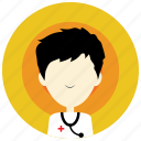 doctor, health, holidays, medical, nurse, occasions, stethescope icon