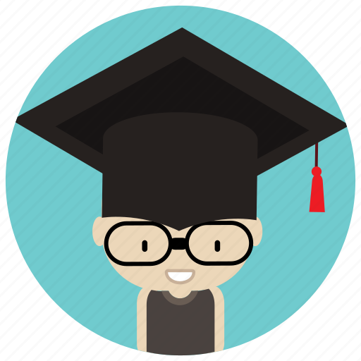Cap, graduate, graduation, holidays, man, occasions icon - Download on Iconfinder