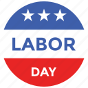 celebration, day, decoration, holidays, labor, occasions, stars icon