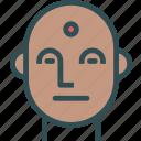 avatar, face, indian, man