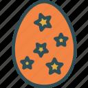 decor, egg, star, tree