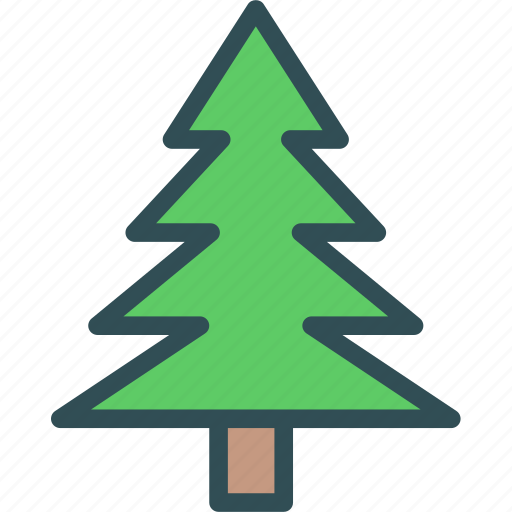 Christmas, pine, tree icon - Download on Iconfinder