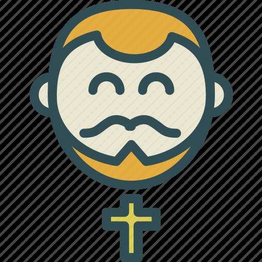 christian, priest, religion icon