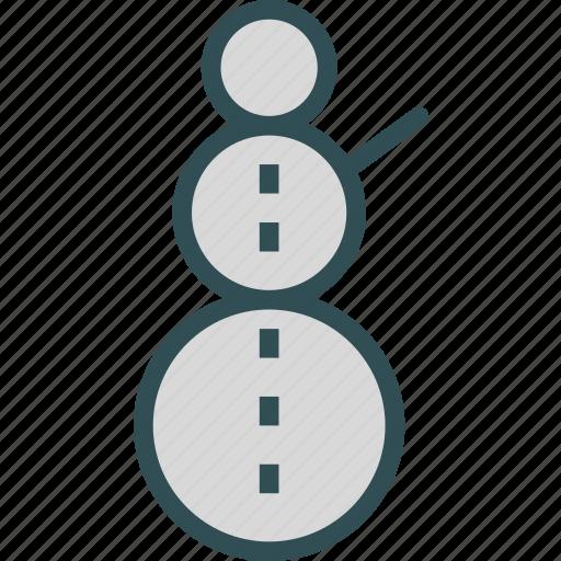 cold, ice, snowman, winter icon