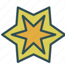christ, christian, shape, star icon