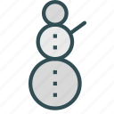 christmas, decoration, figure, snowman, winter, xmas icon