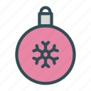 bulb, christmas, decoration, globe, snowflake, tree, xmas icon