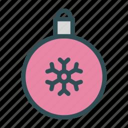 bulb, christmas, decoration, globe, snowflake, tree, xmas icon
