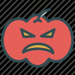 decoration, face, haloween, pumpkin icon