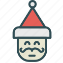 avatar, chrismas, claus, figure, santa, xmas icon
