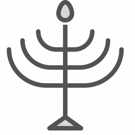 candle, candlesticks, israel, jewis, tradition icon