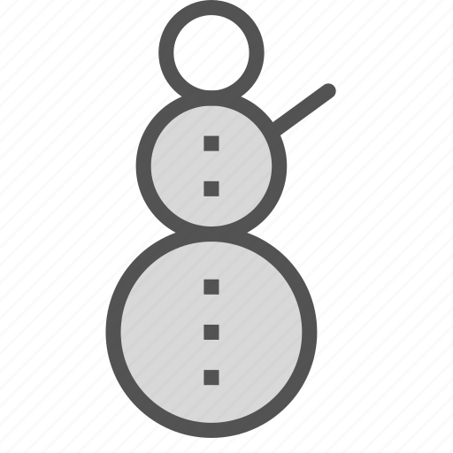 christmas, decoration, figure, snowman, winter, xmas icon