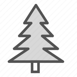 christmas, holiday, tree, winter, xmas icon