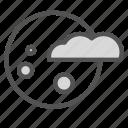 cloud, haloween, moon, night icon
