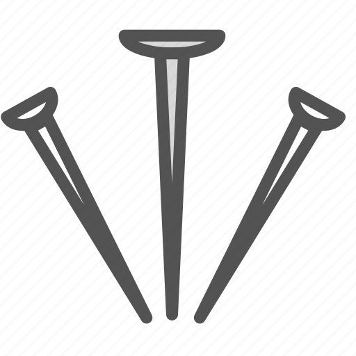 equipment, nail, tool icon