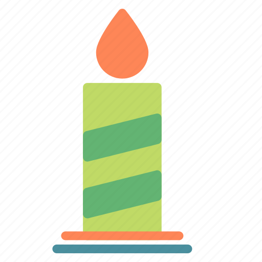 candle, celebration, christmas, decoration, xmas icon