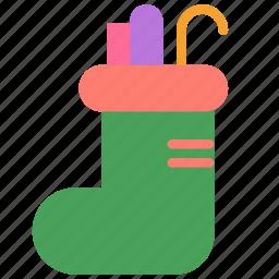 candy, christmas, holiday, nick, present, saint, winter icon