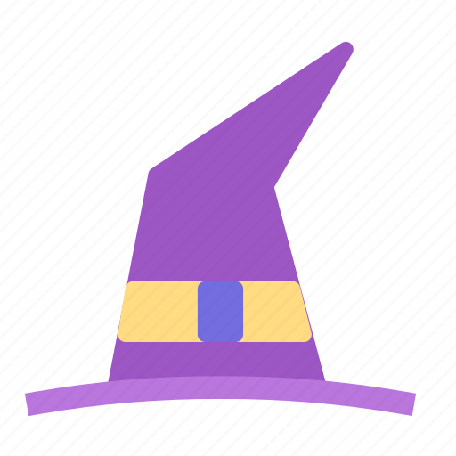 costume, haloween, hat, witch icon