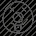 avatar, egg, face, fun, shape, silly icon