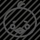 avatar, chick, chicken, face, figure icon