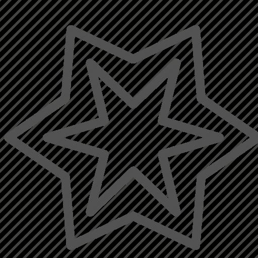 christ, christian, shape, star icon