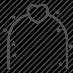 gate, heart, love, star, wedding icon