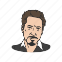 actor, american actor, artist, celebrity, guy, man, robert downey