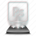 adobe, graphic, hologram, photoshop, psd, tool, tools icon