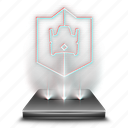 clash, entertainment, game, hologram, mobile, royale icon