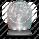 deamon, drive, hologram, holographic, tool, tools, vitrual icon