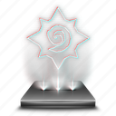 blizzard, entertainment, game, hearthstone, hologram, video icon