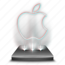 apple, hologram, holographic, ios, system, tool icon