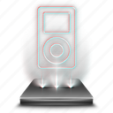 device, hologram, holographic, media, multimedia, player, tool icon