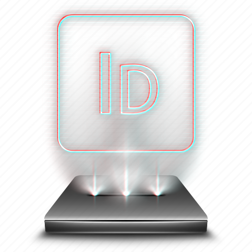 adobe, design, graphic, hologram, holographic, indesign, tool icon