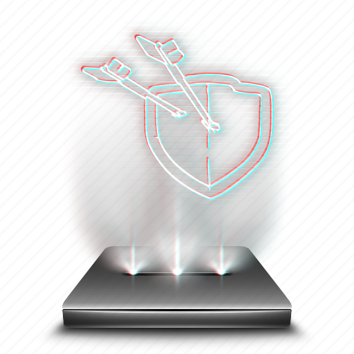 clans, clash, entertainment, game, hologram, mobile icon