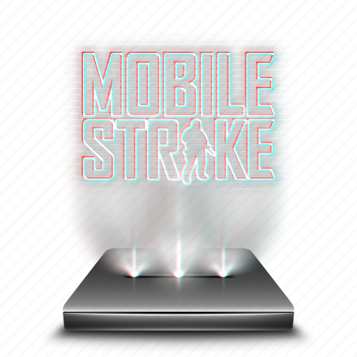 entertainment, game, hologram, holographic, mobile, smartphone, strike icon