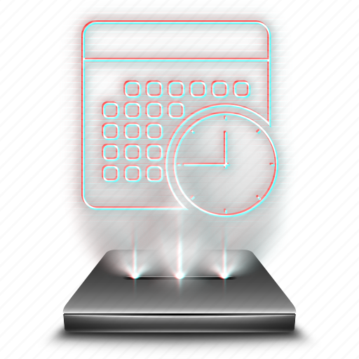 hologram, holographic, notebook, notepad, notes, scheduled, writing icon