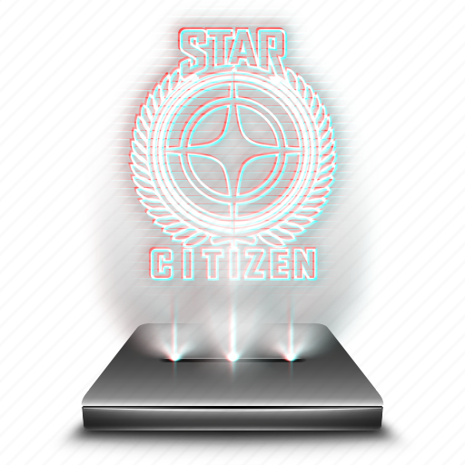 citizen, entertainment, game, hologram, star icon