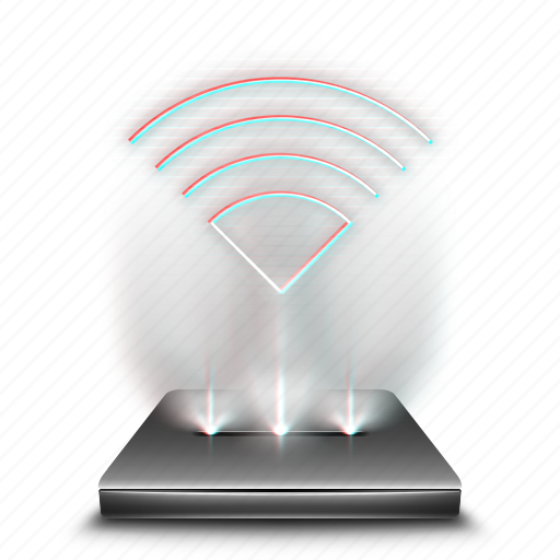 communication, hologram, internet, network, technology, wifi, wireless icon