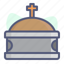 christian, christianity, coffin, holy, religion icon
