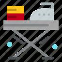 board, cloth, ironing, pressing