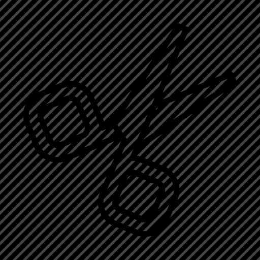 cut, cutting, scissor, scissors, tool icon